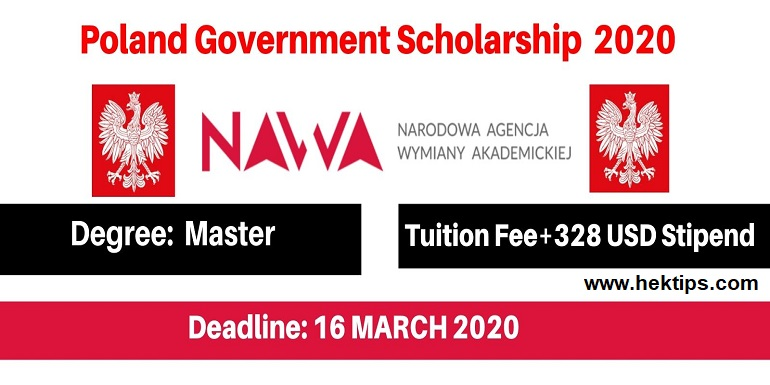 Poland Government Scholarship 2020-21 For International ...