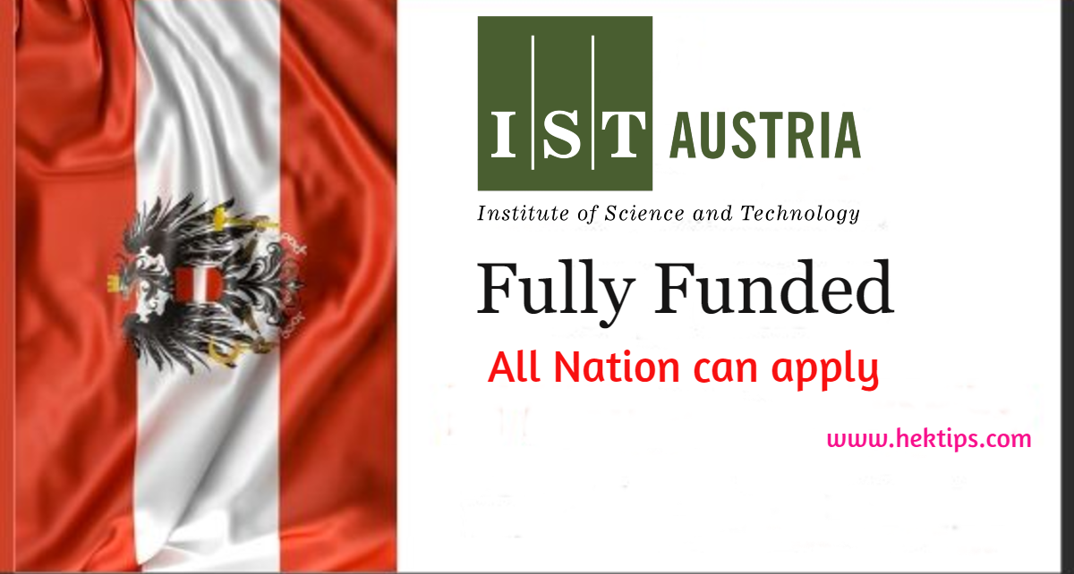 Institute of Science and Technology Austria Scholarship ...
