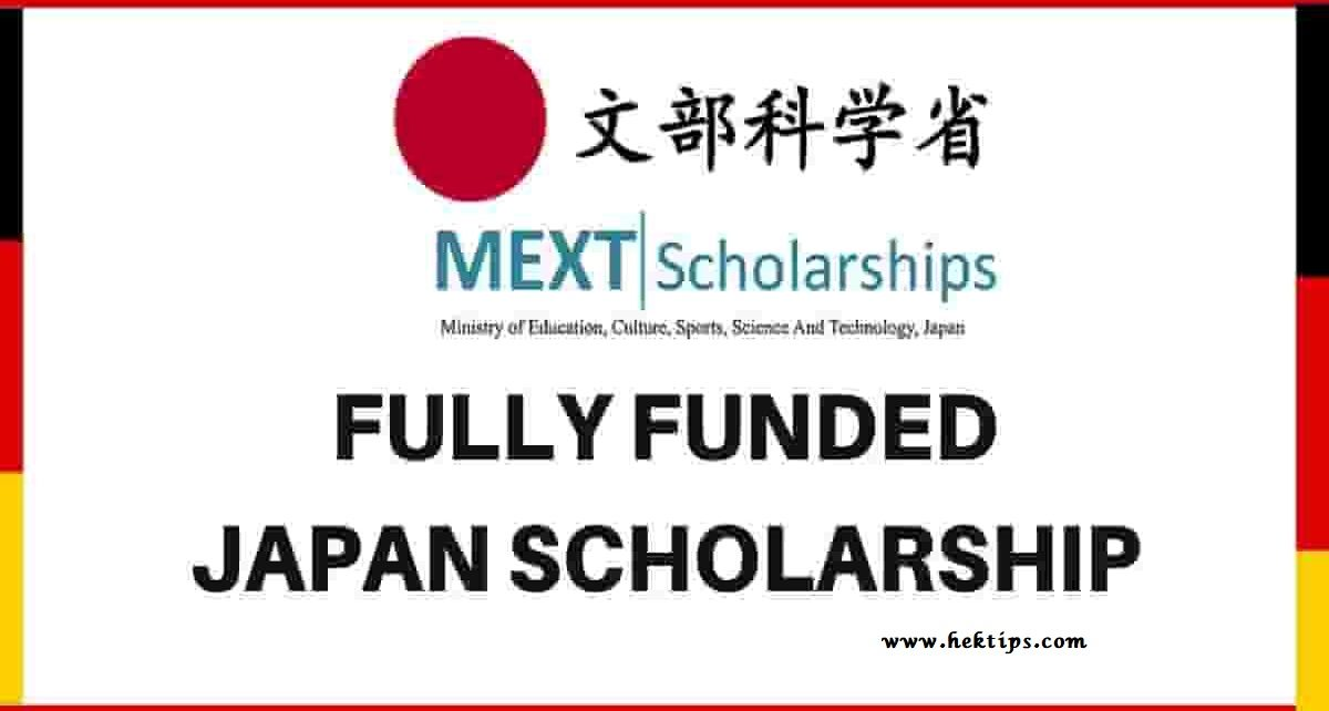 MEXT Japanese Government Scholarship 2021 (Fully Funded ...